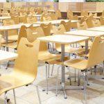 食堂で使う大量の食材の購入